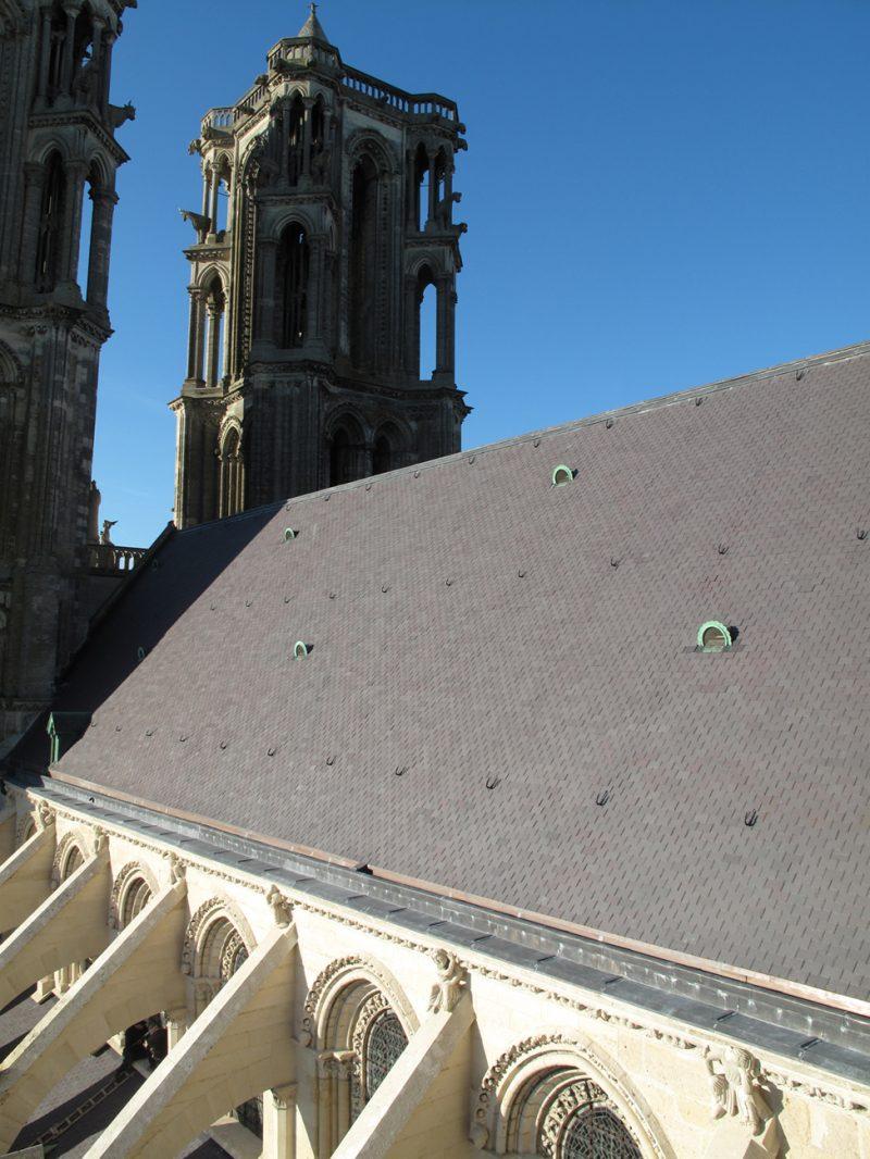 Agence Caillault ACMH – Cathédrale Notre-Dame de Laon – Nef versant sud