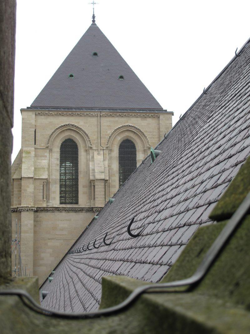 Agence Caillault ACMH – Cathédrale Notre-Dame de Laon – La tour-lanterne après restauration