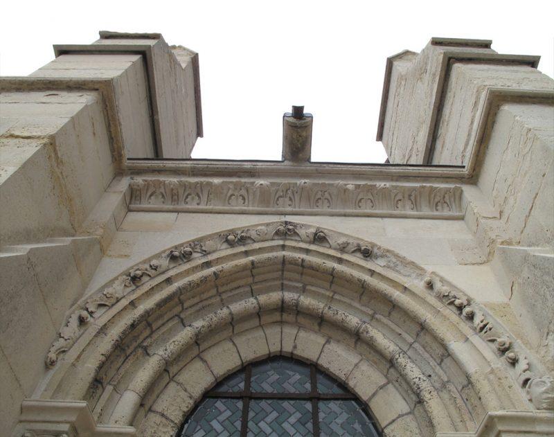 Agence Caillault ACMH – Cathédrale Notre-Dame de Laon – Parements du bas-côté nord restaurés