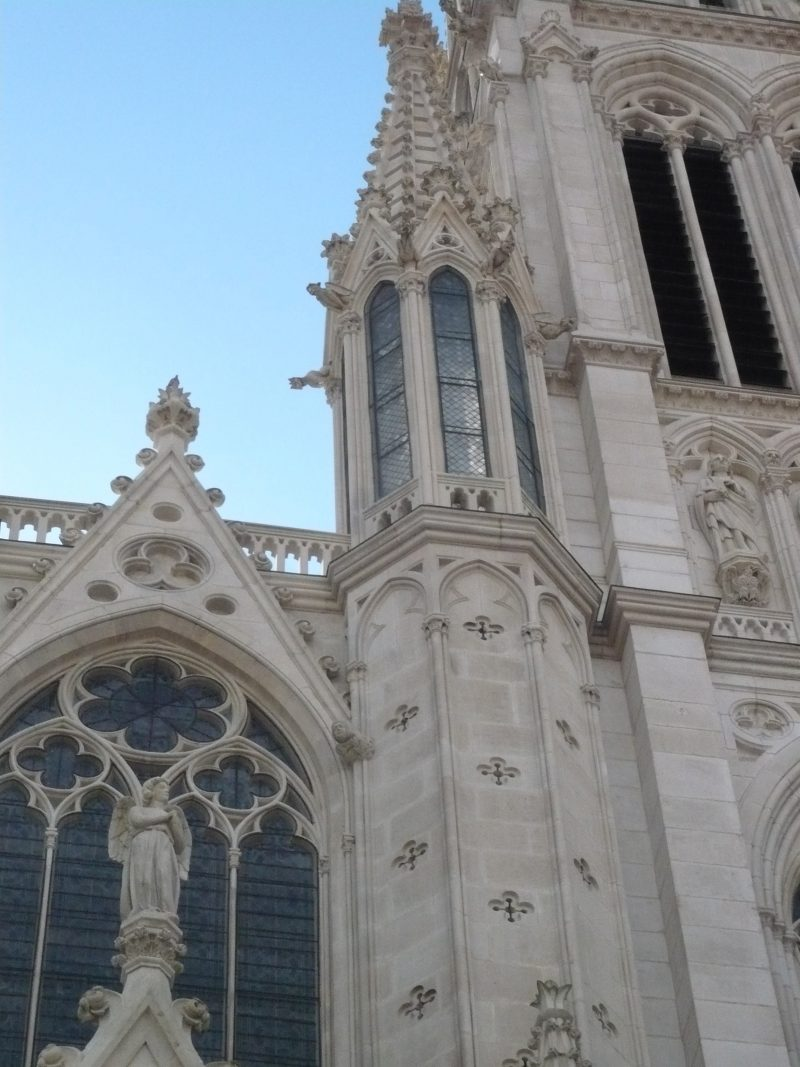 Agence Caillault ACMH – Eglise Saint Epvre – Nancy – Détail de la façade nord restaurée 1