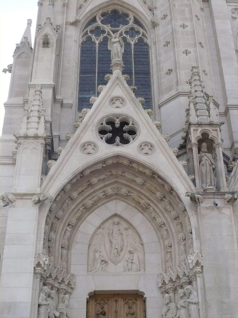 Agence Caillault ACMH – Eglise Saint Epvre – Nancy – Détail de la façade nord restaurée 2