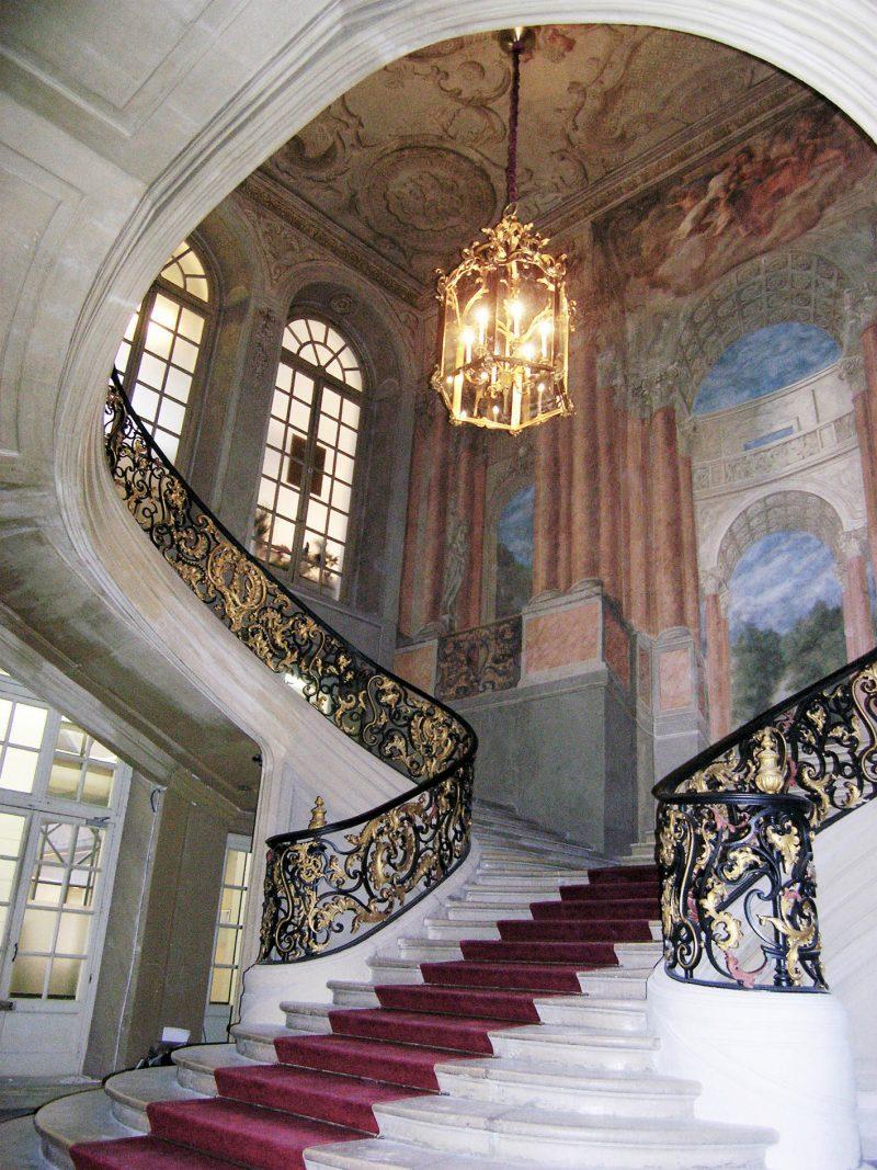 Agence Caillault ACMH – Hôtel de Ville – Nancy –  Escalier d'Honneur restauré