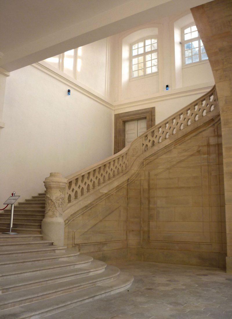 Agence Caillault ACMH – Palais ducal – Luneville – Escalier d'Honneur restauré