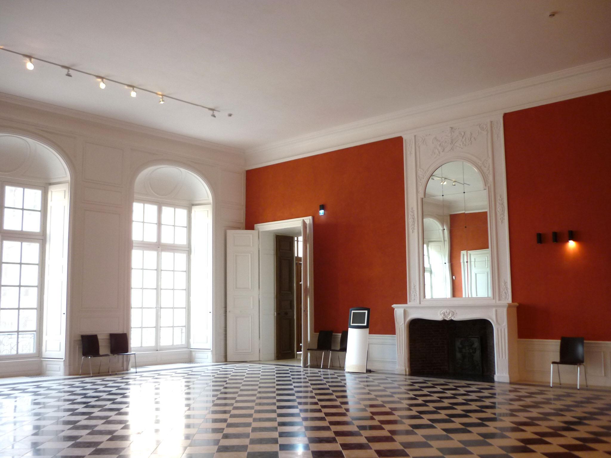 Agence Caillault ACMH – Palais ducal – Luneville – Salle de la Livrée restaurée