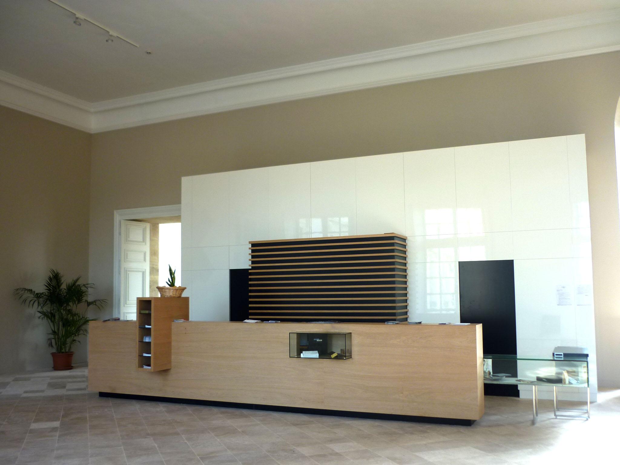 Agence Caillault ACMH – Palais ducal – Luneville – Salle des Gardes restaurée
