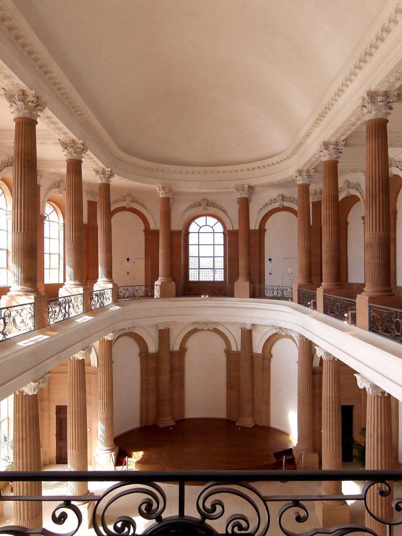 Agence Caillault ACMH – Palais ducal – Luneville – Vue de la Chapelle après restauration