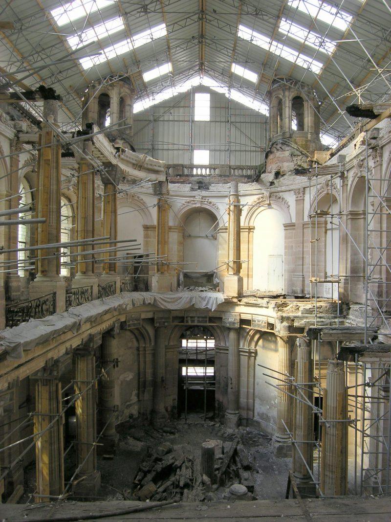 Agence Caillault ACMH – Palais ducal – Luneville – Vue de la Chapelle avant restauration