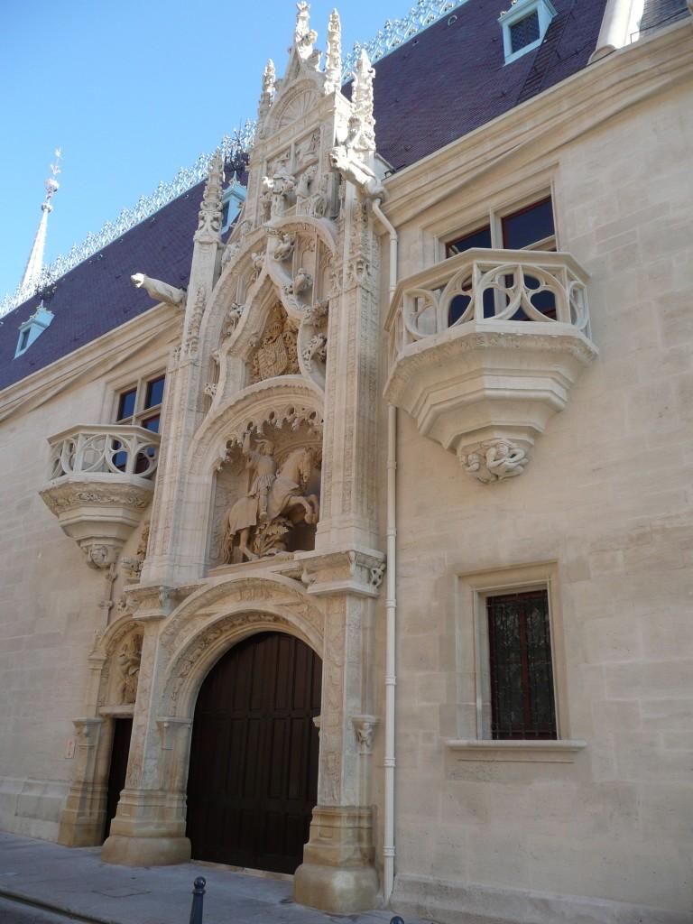 Agence Caillault ACMH -Palais ducal – Nancy – Porterie après restauration