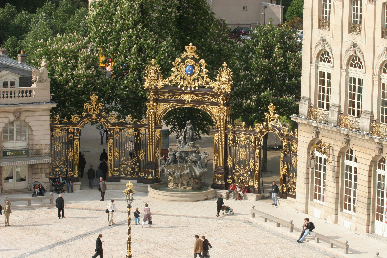 Agence Caillault ACMH – Place Stanislas – Nancy – Ferroneries restaurées