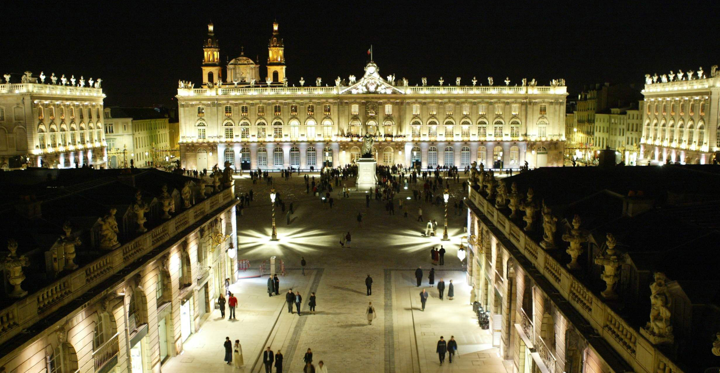 Agence Caillault ACMH – Place Stanislas – Nancy – Mise en lumière 2