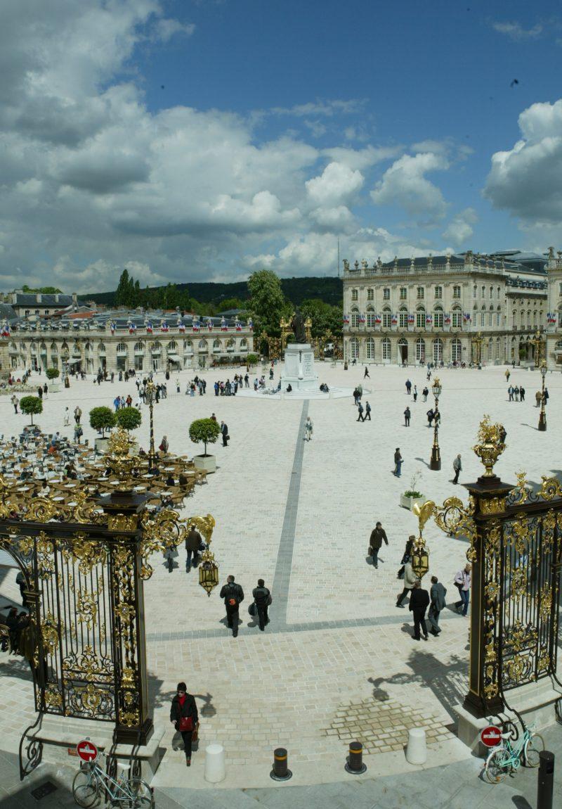 Agence Caillault ACMH – Place Stanislas – Nancy – Vue de la place restaurée