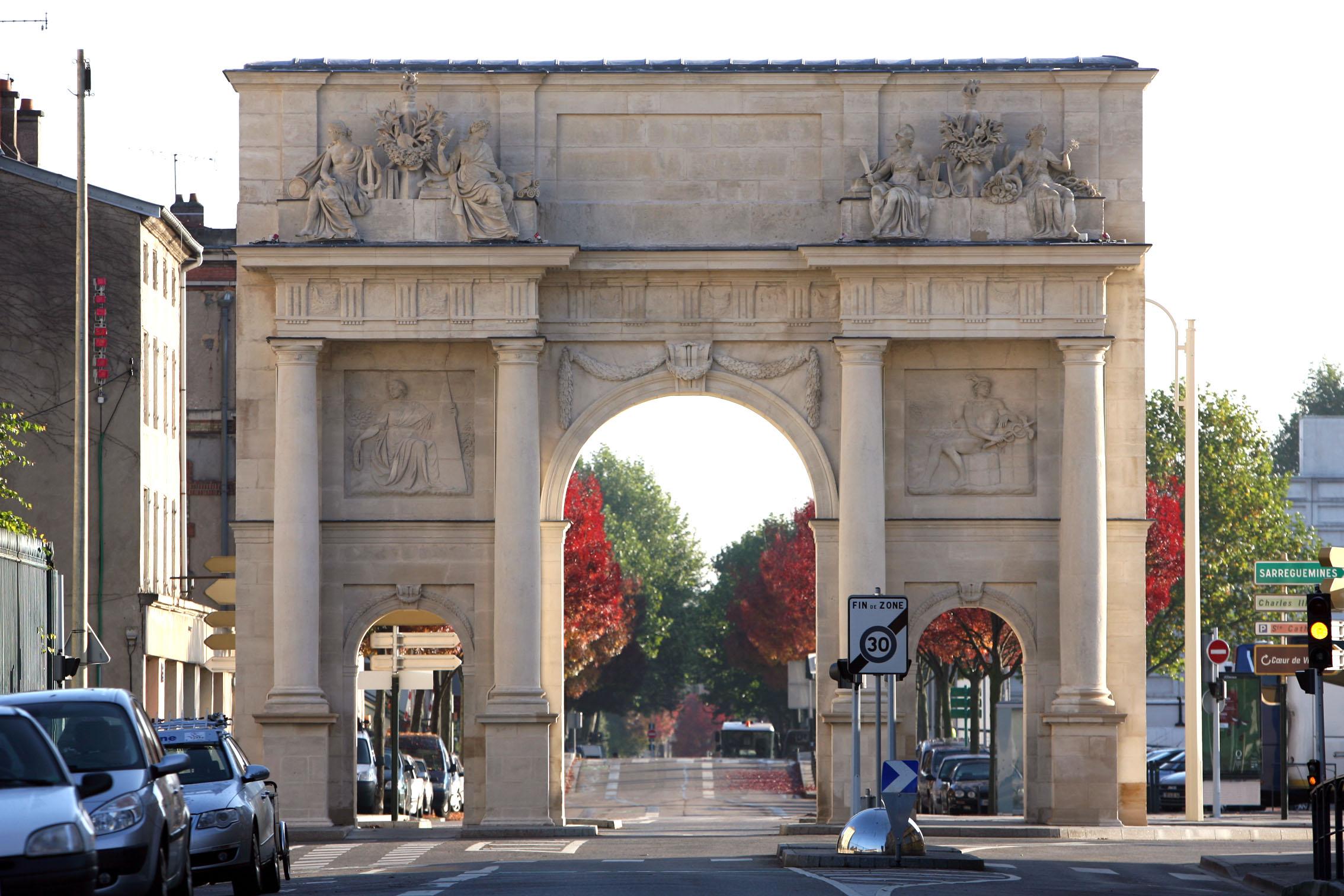 Agence Caillault ACMH – Porte Saint Catherine – Nancy – Façade ouest restaurée