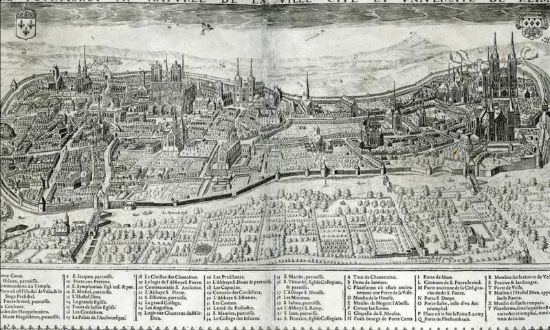 Etude pour la création d'un Site Patrimonial Remarquable – Reims