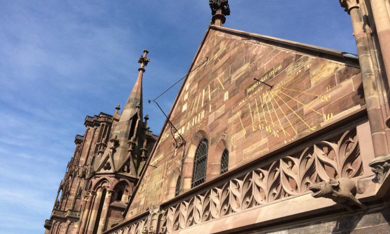 Transept sud de la Cathédrale Notre-Dame de Strasbourg
