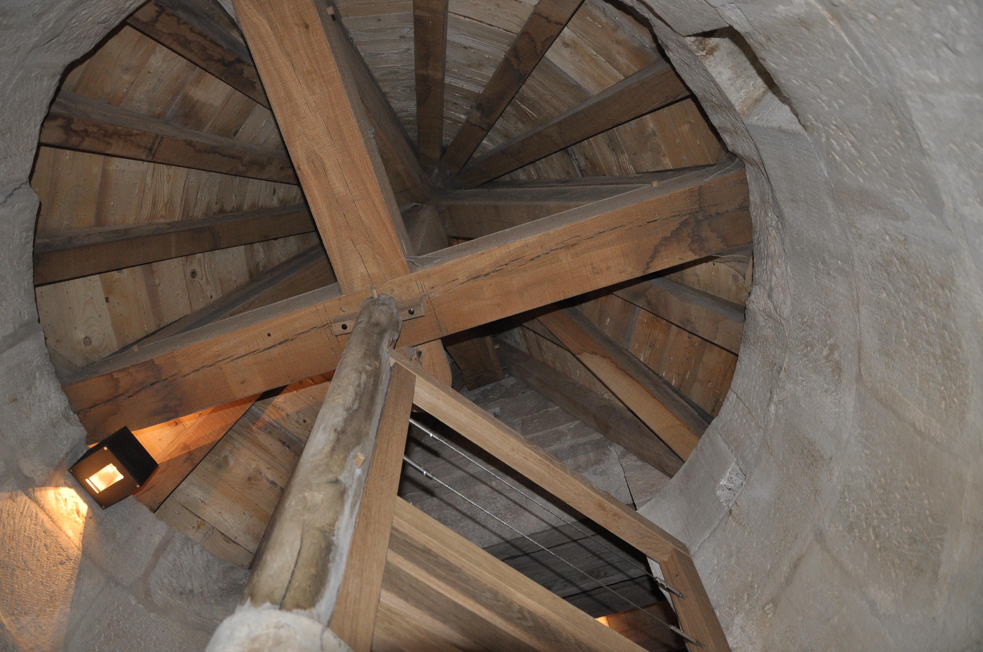 Agence Caillault ACMH – VERTUZEY – Eglise Saint-Gorgon – Nouvelle charpente de la tourelle