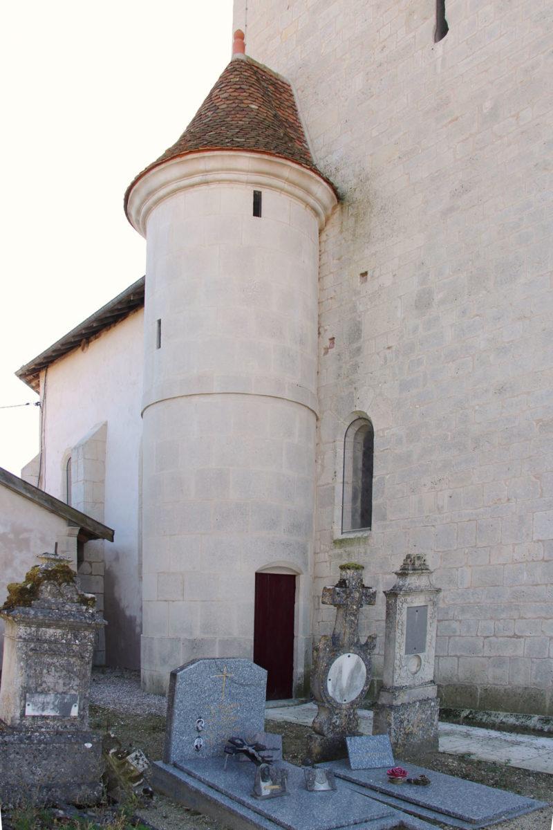 Agence Caillault ACMH – VERTUZEY – Eglise Saint-Gorgon – Tourelle après restauration