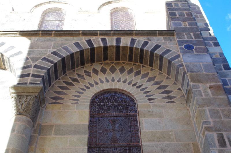 Agence Caillault ACMH – ISSOIRE – Abbatiale Saint-Austremoine – Détail après restauration