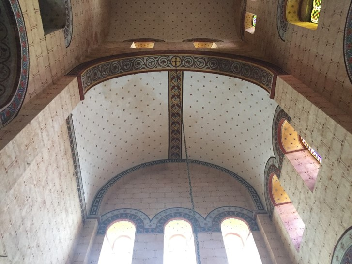 Agence Caillault ACMH – ISSOIRE – Abbatiale Saint-Austremoine – La restauration du bras nord du transept