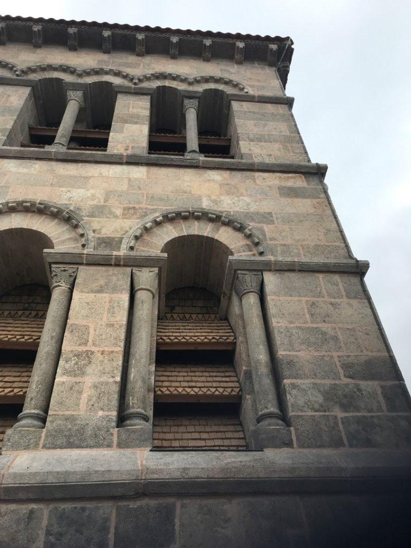 Agence Caillault ACMH – ISSOIRE – Abbatiale Saint-Austremoine – Nouveaux abat-sons