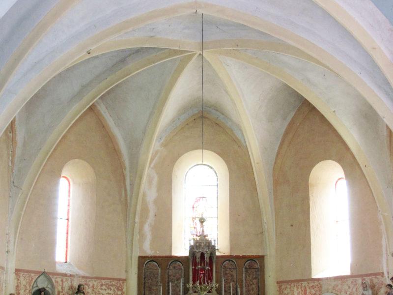 Agence Caillault ACMH – VERTUZEY – Eglise Saint-Gorgon – Choeur avant restauration