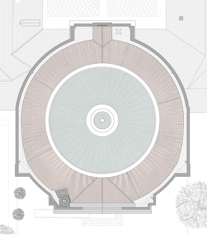 Agence Caillault ACMH – Chapelle Saint-Joseph – Toulouse – Plan de la couverture