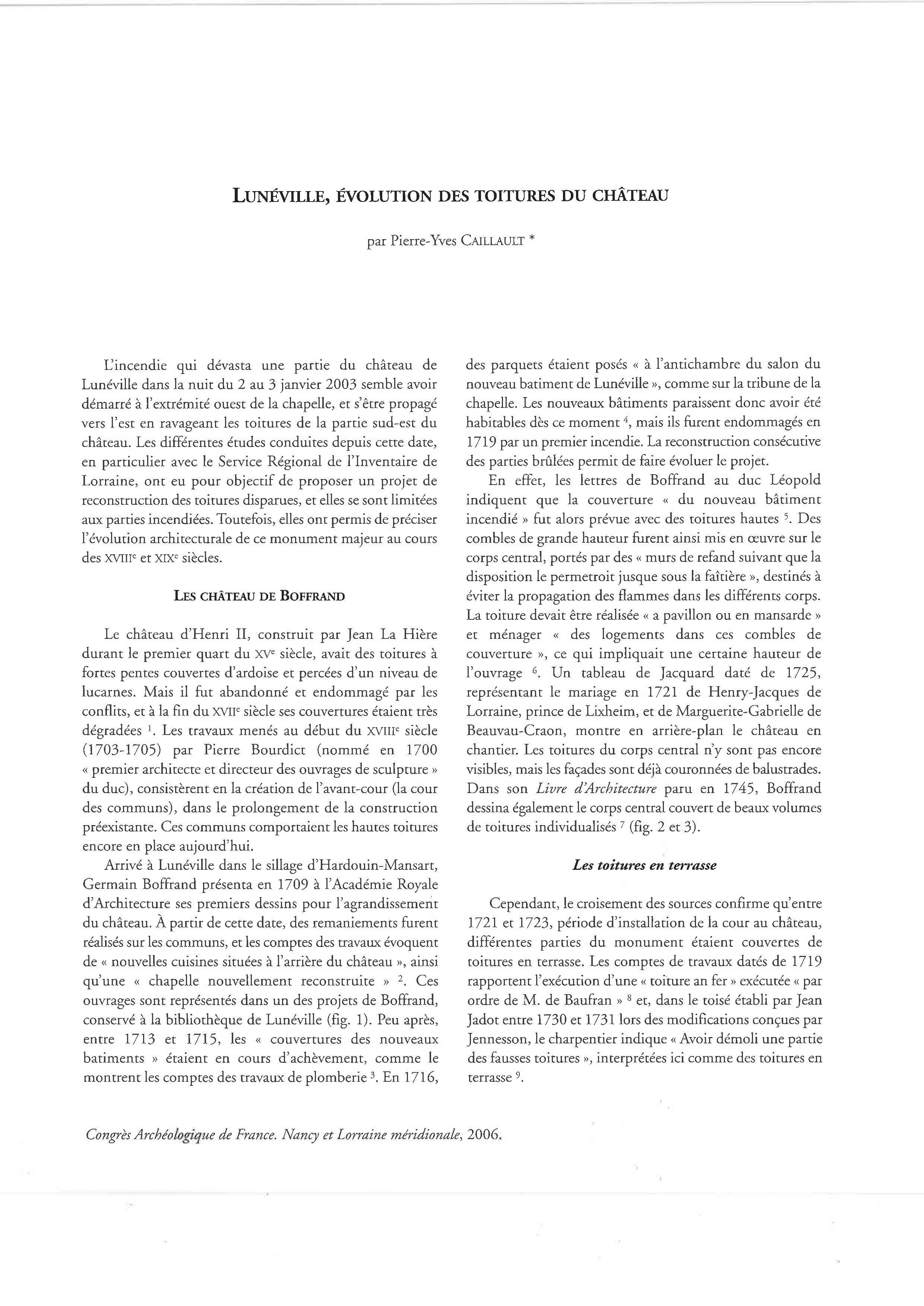 Congrès archéologique de France_SFA_164e session_2006_Lunéville, évolution des toitures du château_Page_1
