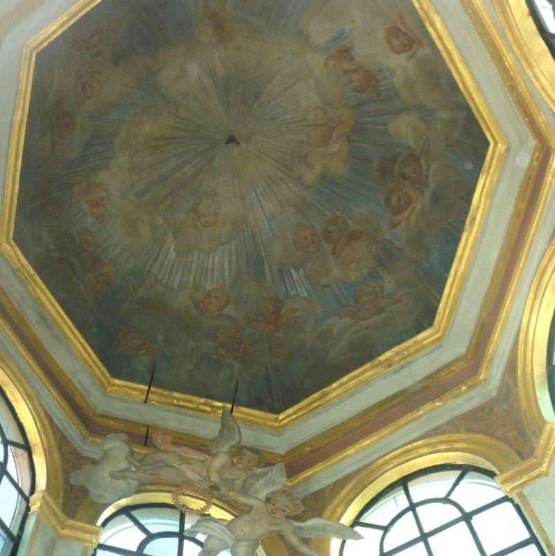 Agence Caillault ACMH – Chapelle des Cordeliers – Nancy – Lanternon après restauration