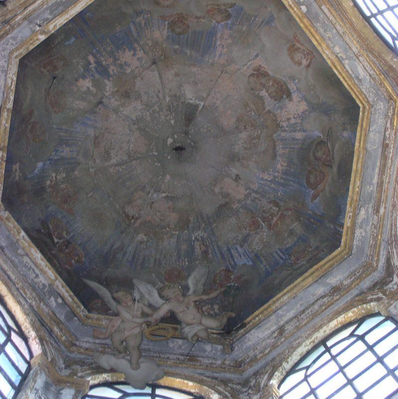 Agence Caillault ACMH – Chapelle des Cordeliers – Nancy – Lanternon avant restauration