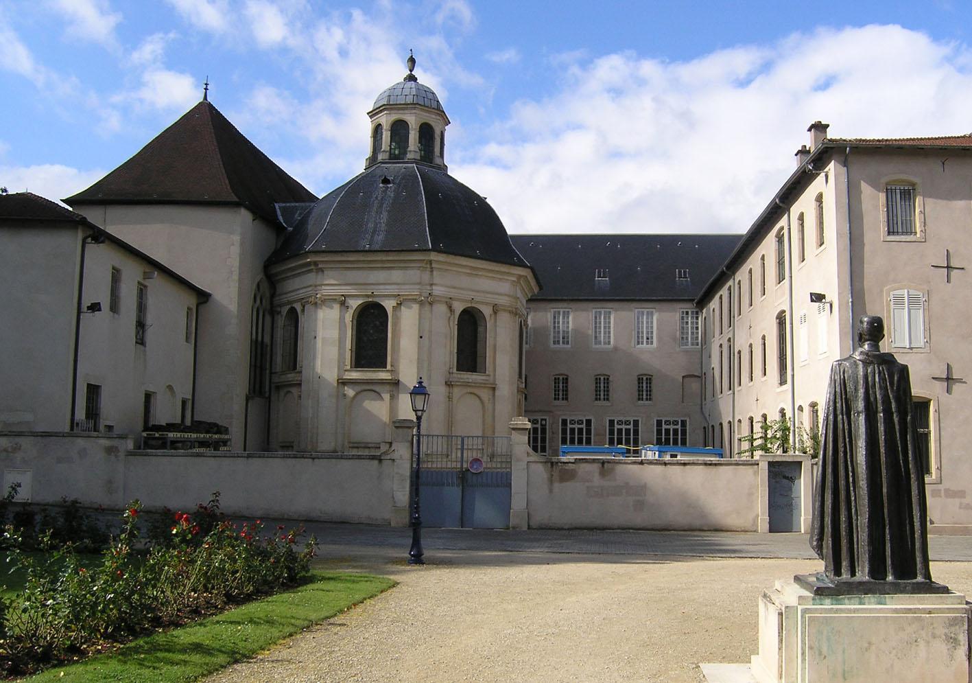 Agence Caillault ACMH – Chapelle des Cordeliers – Nancy – Vue extérieur de la Chapelle