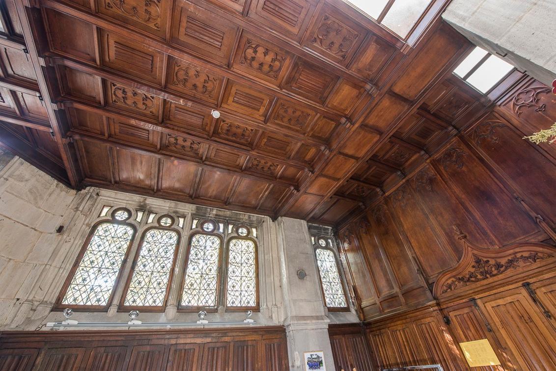 Agence Caillault ACMH – Eglise Saint Epvre – Nancy – Plafond de la sacristie restaurée
