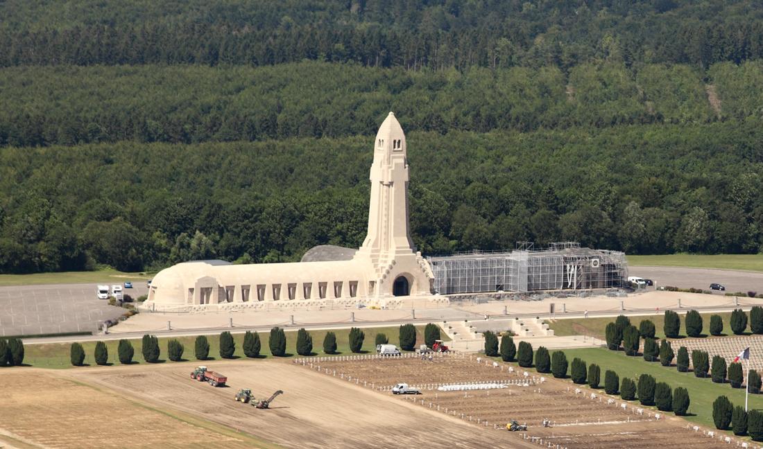 Agence Caillault ACMH – Ossuaire de Douaumont – Chantier
