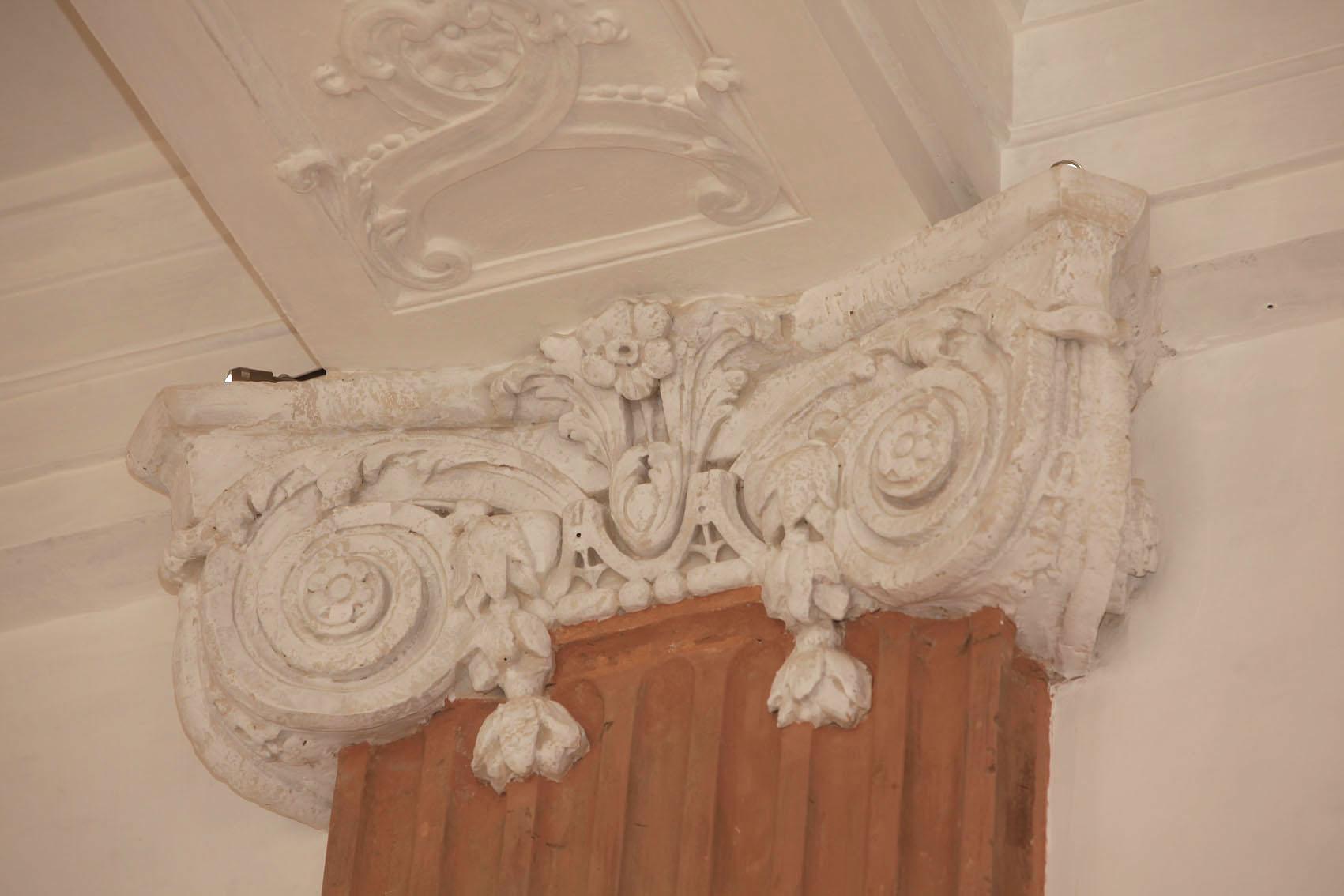 Agence Caillault ACMH – Palais ducal – Luneville – Chapiteau de la Chapelle restauré