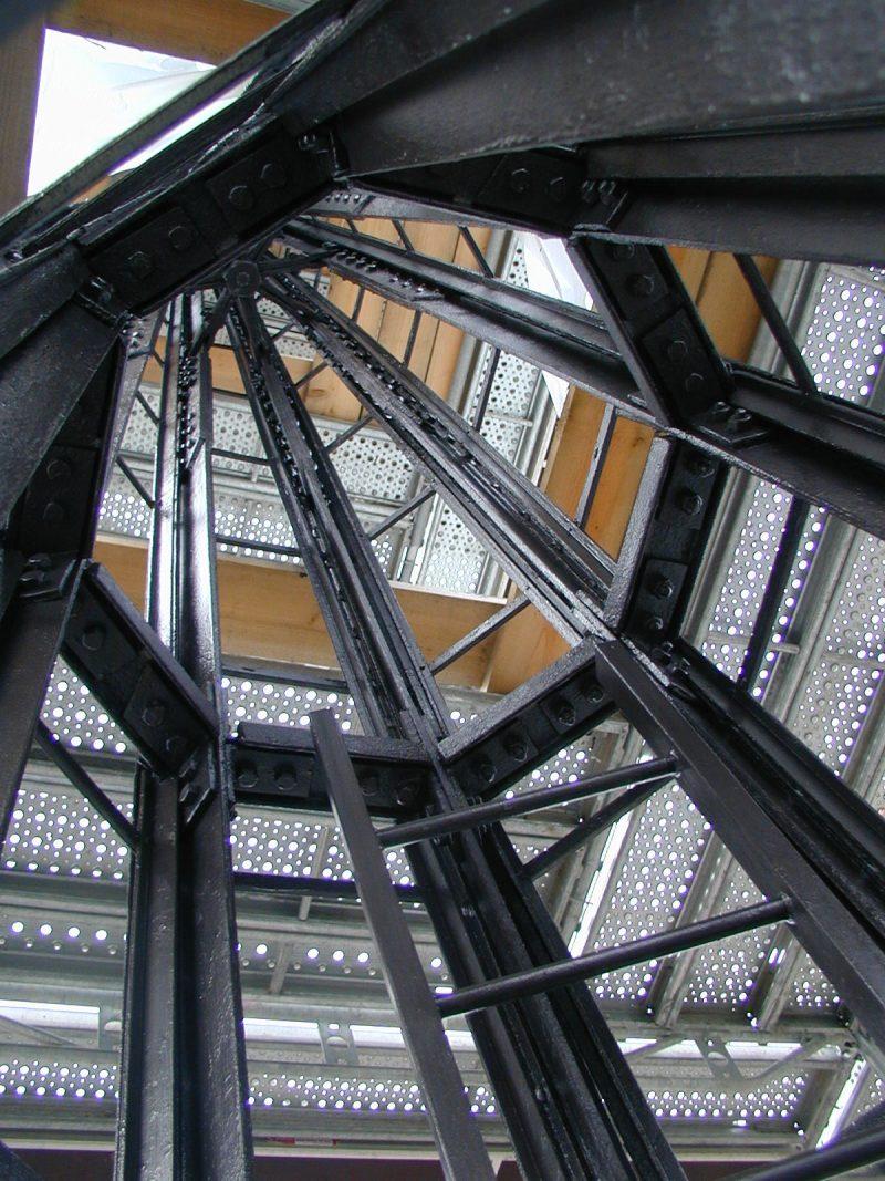 Agence Caillault ACMH -Palais ducal – Nancy – Charpente de la tour restaurée