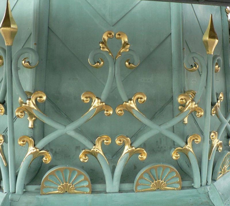 Agence Caillault ACMH -Palais ducal – Nancy – Détail de la flèche restaurée