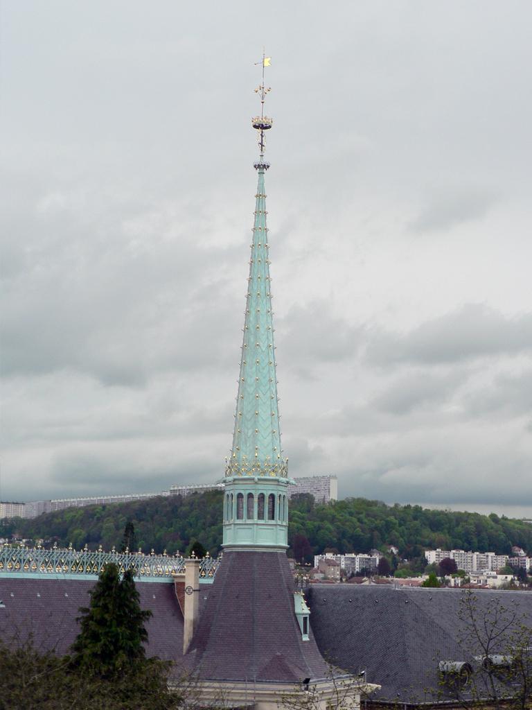Agence Caillault ACMH -Palais ducal – Nancy – Flèche après restauration