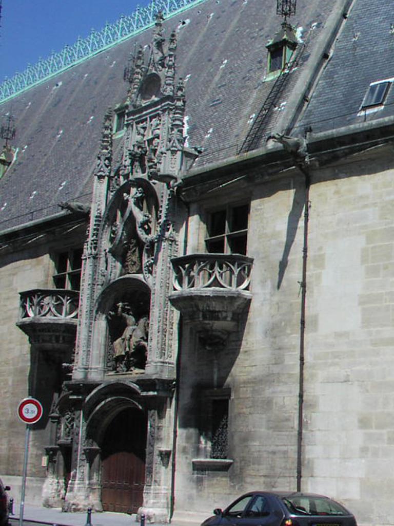Agence Caillault ACMH -Palais ducal – Nancy – Porterie avant restauration