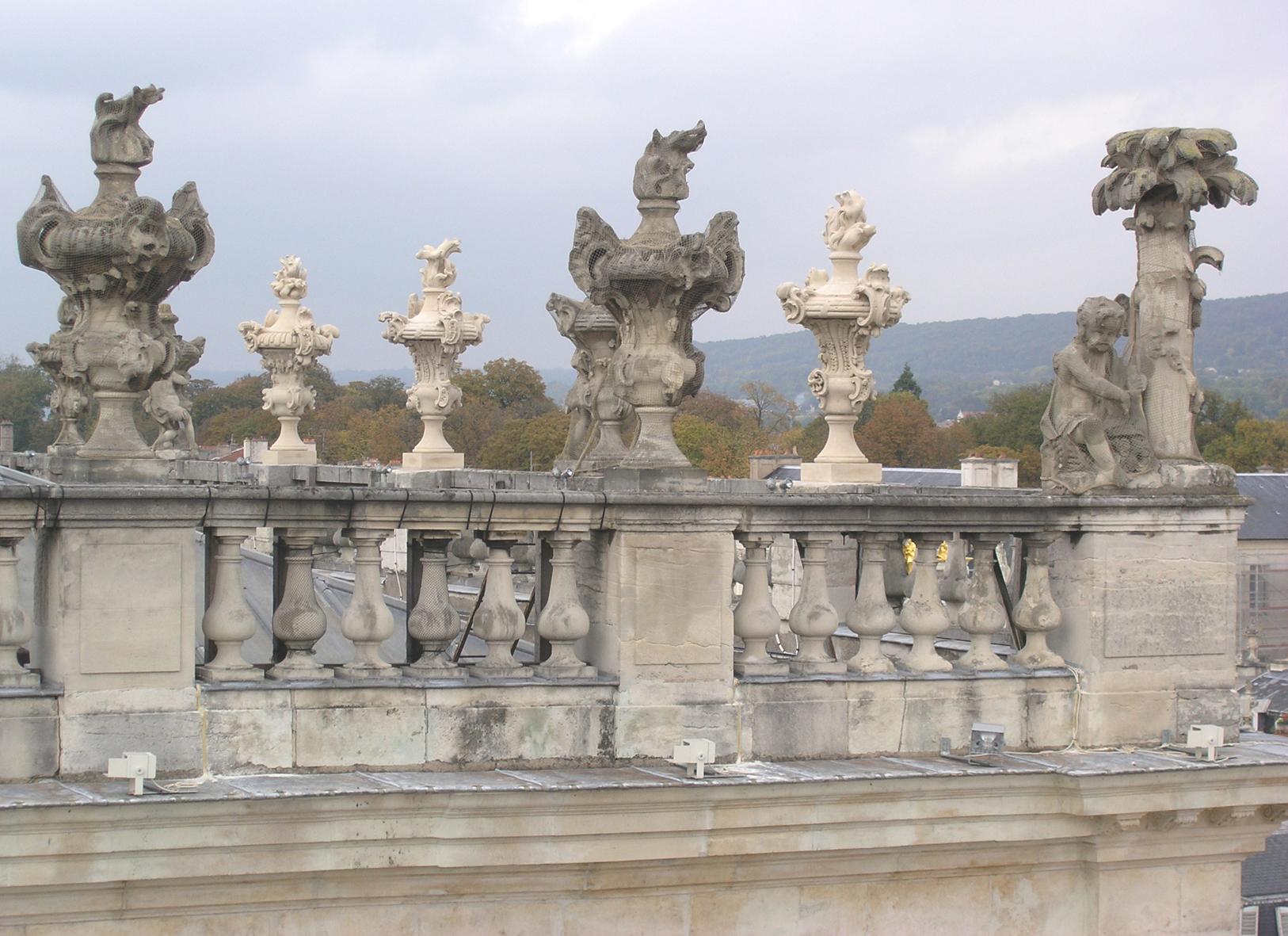 Agence Caillault ACMH – Place Stanislas – Nancy – Balustrades restaurées
