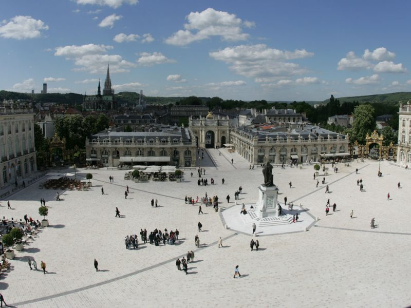Agence Caillault ACMH – Place Stanislas – Nancy – Vue générale après restauration