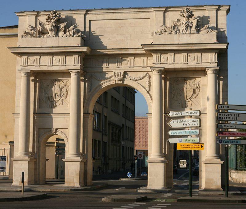Agence Caillault ACMH – Porte Saint Catherine – Nancy – Façade est après restauration