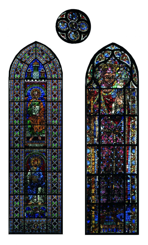 Agence Caillault ACMH – Transept sud de la Cathédrale – Strasbourg – Baie 104 ( façade est)