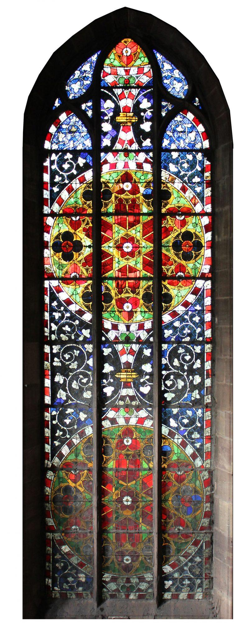 Agence Caillault ACMH – Transept sud de la Cathédrale – Strasbourg – Baie 112 (façade ouest)