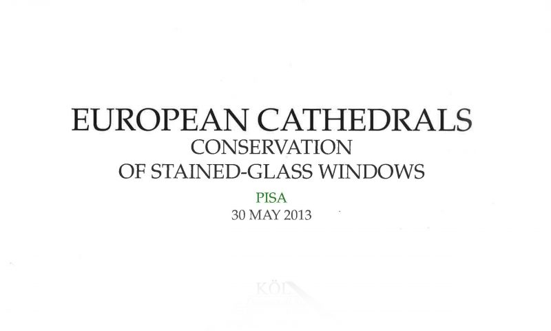 The stained-glass windows of Strasbourg Cathedral : current state and future expectations – European Cathedrals