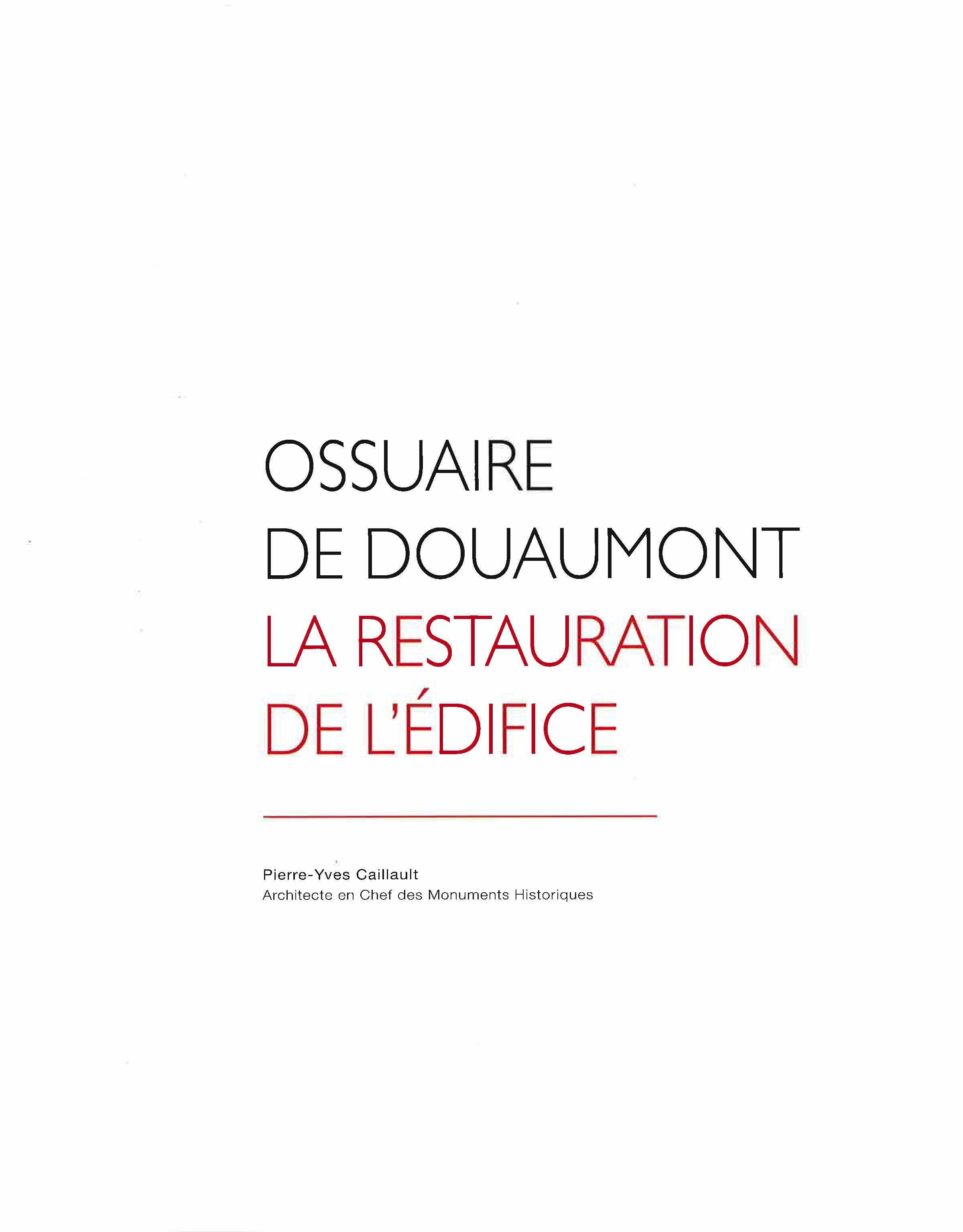 Ossuaire de Douaumont, la restauration de l'édifice_Page_03