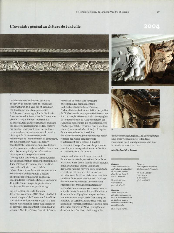 Monumental 2004 Semestriel 2 – 6