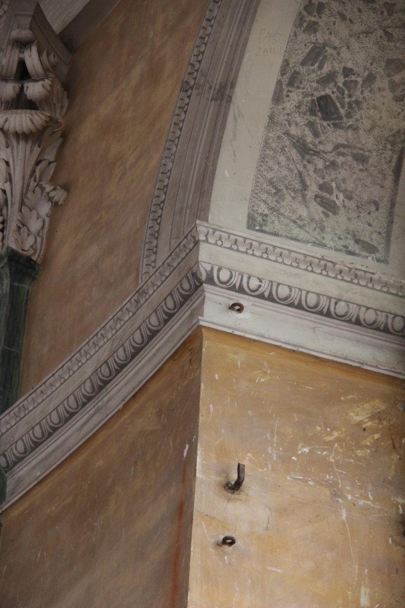 Agence Caillault ACMH – Chapelle Saint-Joseph – Toulouse – Détail du décor peint (2)