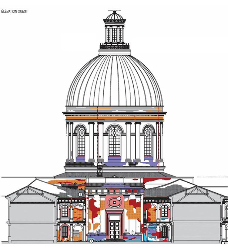 Agence Caillault ACMH – Chapelle Saint-Joseph – Toulouse – Elévation sur Cour St-Monique