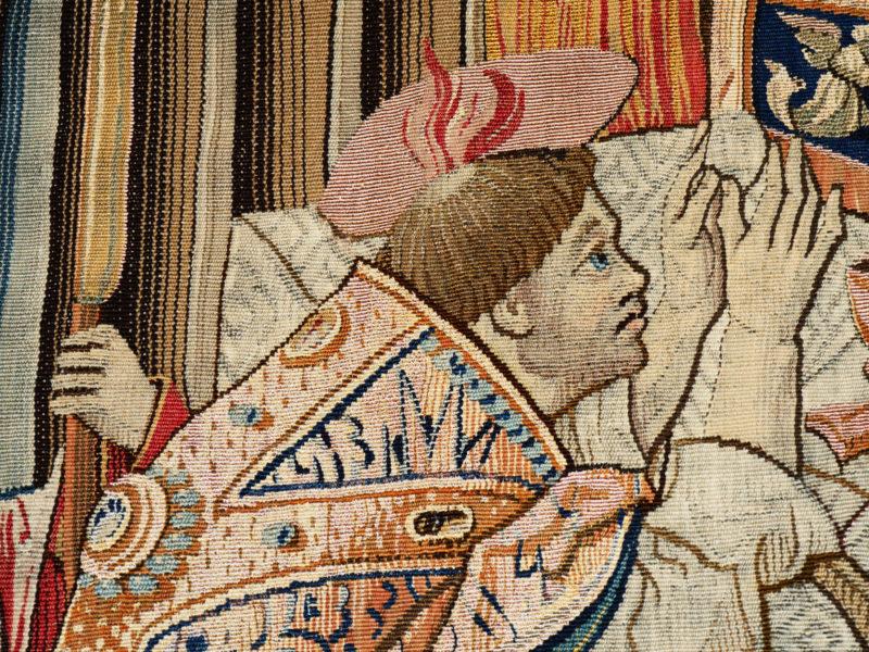 Agence Caillault ACMH – Collégiale Saint-Martin – Montpezat-de-Quercy – Détail des tapisseries (3)