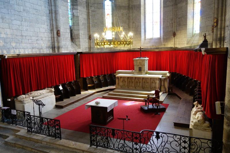 Agence Caillault ACMH – Collégiale Saint-Martin – Montpezat-de-Quercy – Vue du choeur après restauration (2)