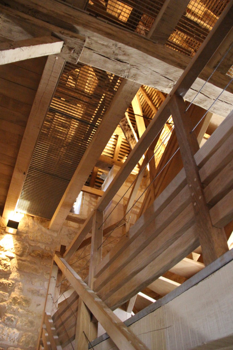 Agence Caillault ACMH – VERTUZEY – Eglise Saint-Gorgon – Intérieur du clocher après travaux