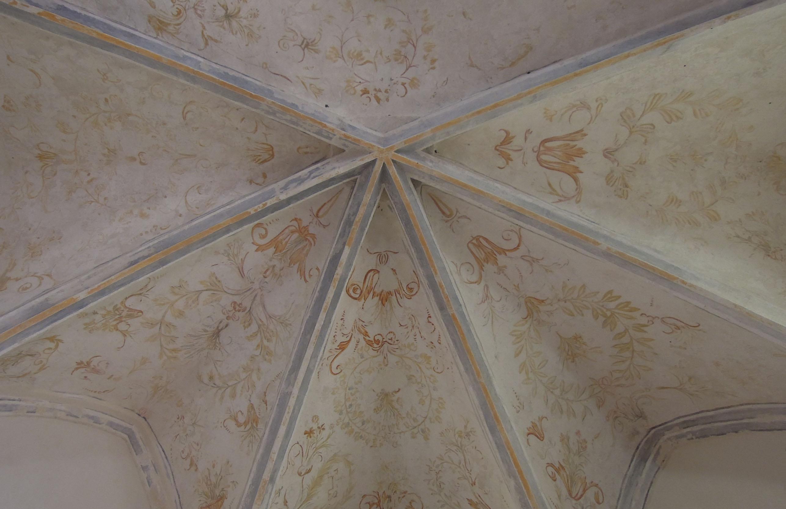 Agence Caillault ACMH – VERTUZEY – Eglise Saint-Gorgon – Voûtes du choeur après restauration( XVIIe siècle)
